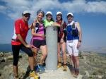 Rutas Montaña Maratón Alpina Dos Canchales. Los 2.430m de Peñalara siempre atraen corredores de montaña.