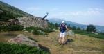 Rutas Montaña Maratón Alpina Dos Canchales. Llegando al Chozo Aragúez, enclave clásico del trail.