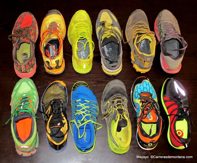 Zapatillas trail running Las mejores 2013