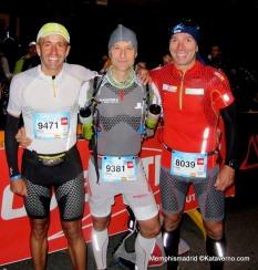 Ultra trail mont blanc 2013: Corredores de montaña españoles en salida TDS
