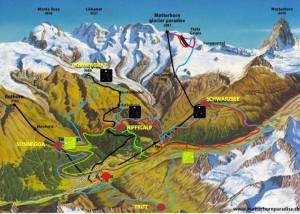 Ultra trail 2013 Matterhorn ultraks mapa de carrera