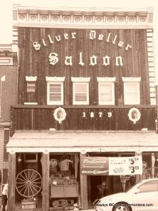 Leadville 100 Miles: El Silver Dollar Saloon. Sirviendo whisky desde 1.873.
