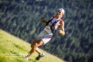 Miguel Heras en la Ultra Trail Val D'Aran. Foto Guillem Casanova
