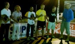 Ultra trail Transkarureka Guadaloupe Entrega premios