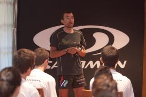 Miguel Heras, director del Salomon Junior Team 2013