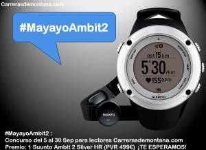 Suunto Ambit 2 Silver HR #MayayoAmbit2 concurso