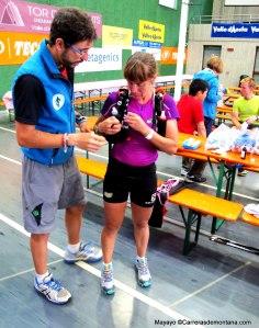 Nerea Martínez abandona Gressoney (203k) como líder de carrera