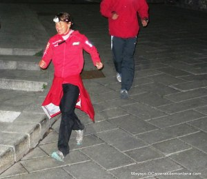 Nerea Martínez entra a la carrera en Courmayeur tras 330k/D+24.000m sin bastones