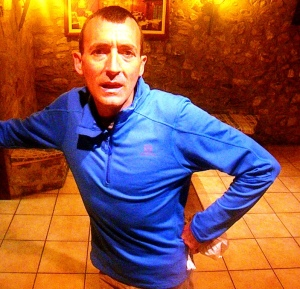 Miguel Heras ya en Bagá esperando la Ultra Cavalls del Vent 2013