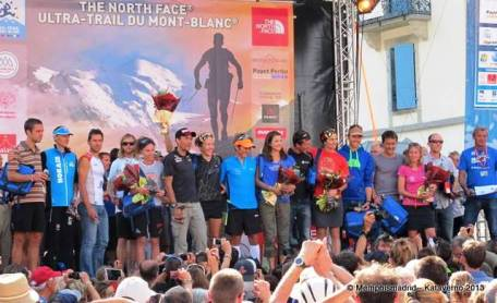 Ultra trail mont blanc 2013 foto podio final