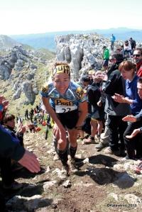 Nuria Picas en la Zegama Aizkorri. Foto: Kataverno.com