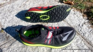 Zapatillas Trail Brooks Pure Grit 2. Foto: Claudio Luna.