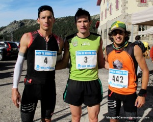 Cross Cuerda Larga 2013: Podio masculino.