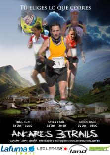 Ancares 3 Trails 2013 cartel carrera