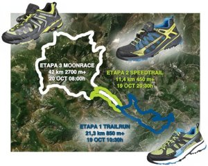 Ancares 3 trails mapa de carreras