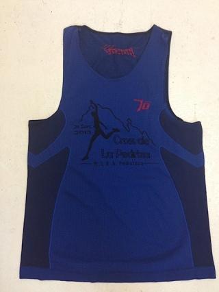"""Cross Pedriza 2013: Camiseta de finalista. El único """"trofeo"""" al que aspira un popular."""