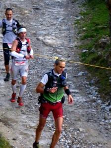 Desafio Cantabria 2013: Alvaro Rodríguez, Alfonso Rodríguez e Imanol llegan a la Horcadina.  Foto: Mayayo