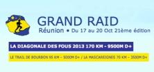 Grand raid reunion Diagonale des fous 2013