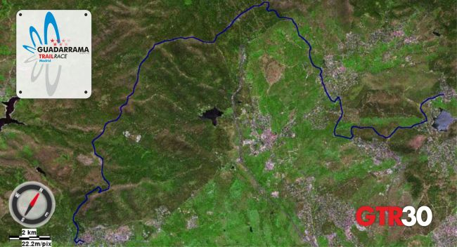 Guadarrama Trail Race  GTR30 Mapa 2oct13