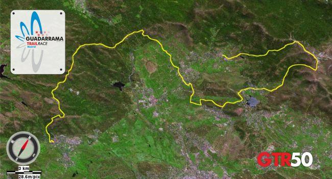 Guadarrama Trail Race  GTR50 Mapa 2oct13