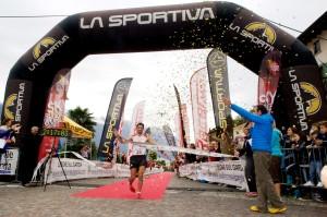 Kilian Jornet campeón del mundo Sky Series 2013 gana Limone Extreme. Foto Limone extreme