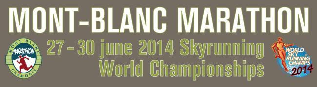 Carreras Montaña 2014: Mont Blanc Marathon - Campeonato del Mundo Skyrunning.