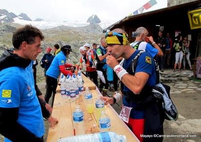 Grivel Mont Blanc material trail: Pablo Criado en Tor des Geants 2013