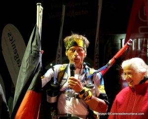 Grivel trail running: Giuseppe Grange 9º en Tor 2013 con bastones Grivel.