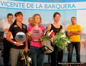 Desafio Cantabria 2013 Podio femenino