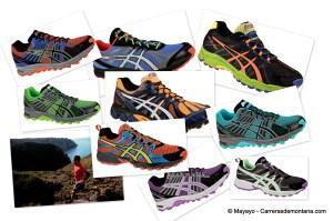 Zapatillas Asics Trail: catálogo Julio 2012. Salto adelante.