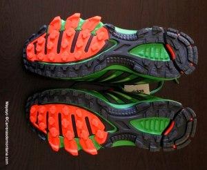 zapatillas trail adidas response trail 20 foto mayayo suela