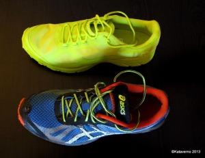zapatillas asics trail y haglofs