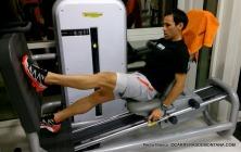 Plan entrenamiento trail: Trabajo lumbar de potencia con Kettlebell. Sentadillas en jaula