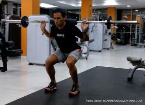 Plan entrenamiento trail: Trabajo de fuerza en gimnasio.