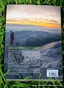 kilian jornet libro la frontera invisible  contraportada