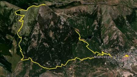 Trail running madrid la najarra miraflores mapa mayayo panorámica