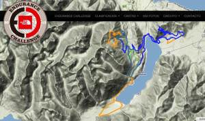 Ultra trail Argetnina TNF Endurance Challenge 2013 Mapas carrera