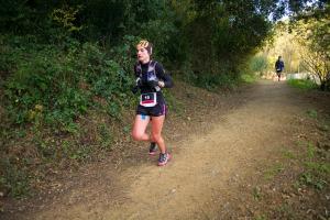 ultra trail collserola 74k Judit Franch. Foto: Quim Farrero.