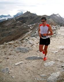 Kilian Jornet, un año más en la cima. Aquí camino de ganar la Matterhorn Ultraks. Foto: MemphisMadrid