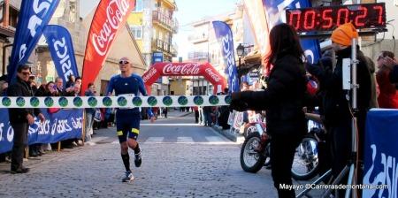 Carrera Navidad Cercedilla 2013 fotos chema martinez campeon