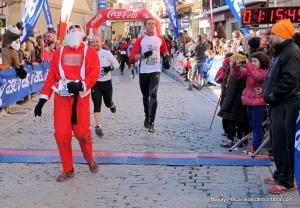 Carrera cercedilla 2013 fotos mayayo meta sprint papa noel