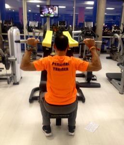 entrenamiento trail running Ejercicio jalón dorsal máquina