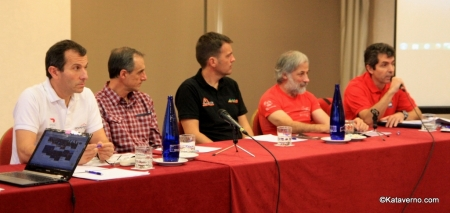 Spain Ultra Cup: Los directores de las cuatro carreras y el presidente ITRA