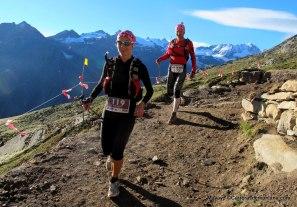 Tor des Geants 2013 descenso del Col Loson.