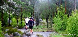 Suunto Ambit rodaje Parque Nacional Nuuksio finlandia