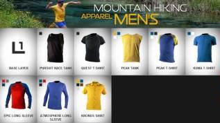 Ropa Montaña Hombre La Sportiva. Primera capa.