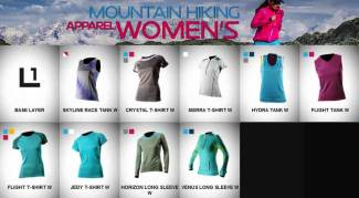 Ropa Montaña Mujer La Sportiva: Primera Capa