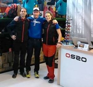 Lolo Diez equipo OS2O Trail Running 2014.