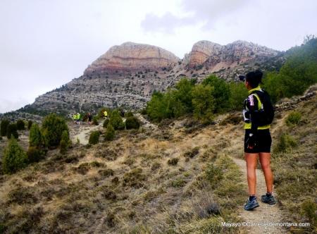 Penyagolosa: Xari Adrián, campeona España ulta trail 2013, nos señala el camino a la cima.