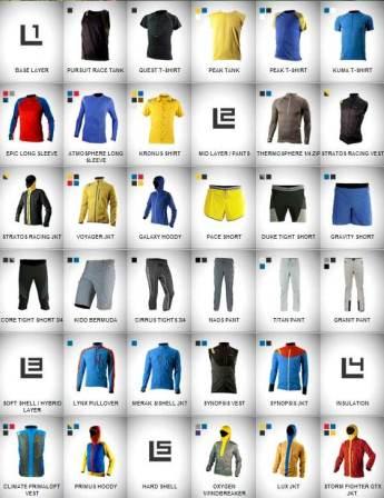 Ropa de montaña hombre La Sportiva: Catálogo cinco capas.
